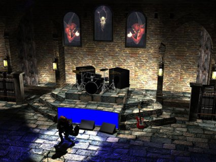 Black Sabbath Stage Set