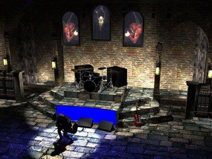 Black Sabbath Stage Set