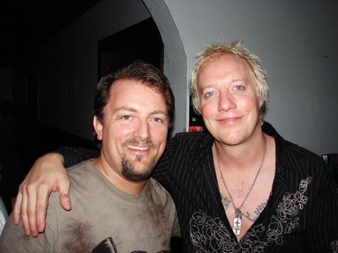 Rob Rockitt with Jani Lane
