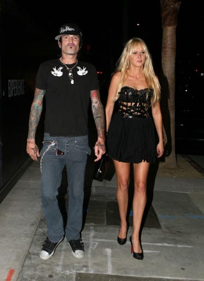 Tommy Lee and Kimberly Stewart