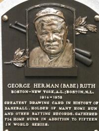 Babe Ruth HOF