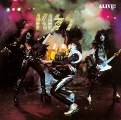 KISS Alive cover