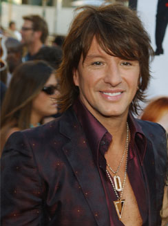 Male Celebrity Richie Sambora hairstyle