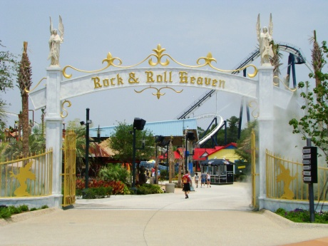 The Entrance To Rock and Roll Heaven
