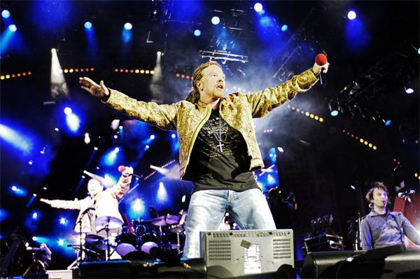 Guns N' Roses se presentará el 20 de marzo en River Plate