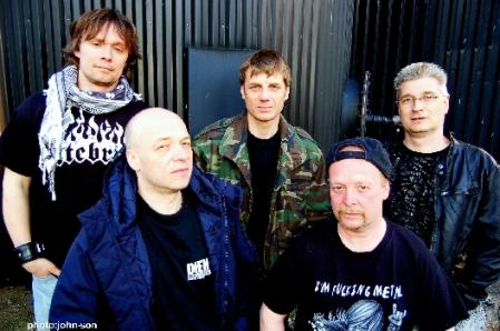Artillery AD 2009: Søren Adamsen, Morten Stützer, Carsten N. Nielsen, Michael Stützer, Peter Thorslund