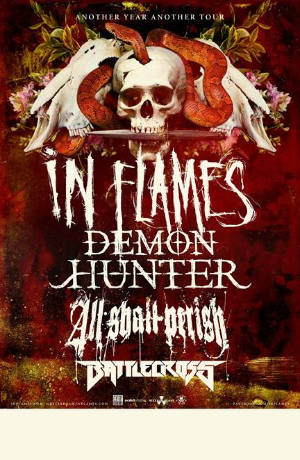 In Flames Poster