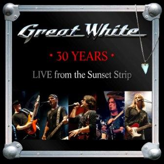 GREAT WHITE 30th COVER