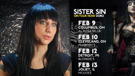 Sister Sin Doro Tour