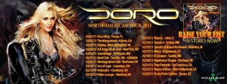 Doro 2013 tour
