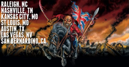 Iron Maiden US Tour