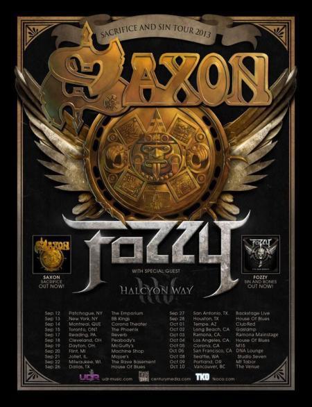 Saxon Tour