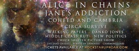 Alice in Chains Janes Addiction