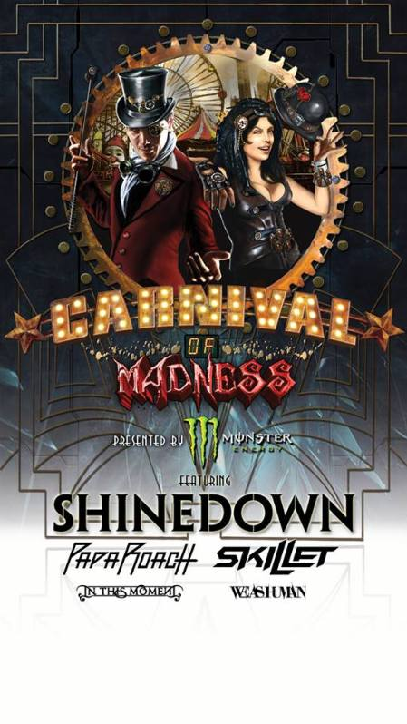 Carnival of Madness poster