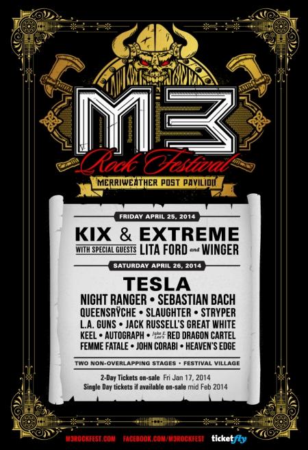 M3 Rockfestival 2014