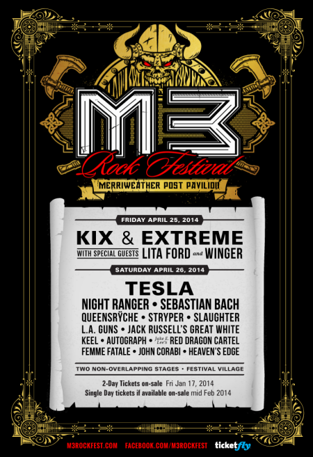 M3 2014 Lineup