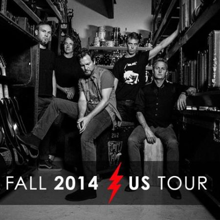 Pearl Jam Tour 2014