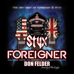 Styx Foreigner Don Felder