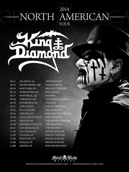 KingDiamondTour2014